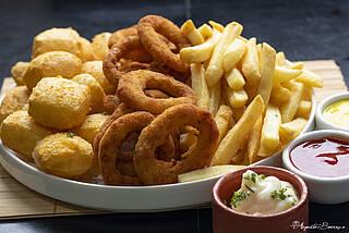 Frittierte Nahrungsmittel erhöhen das Risiko für Herz-Kreislauf-Vorfälle
