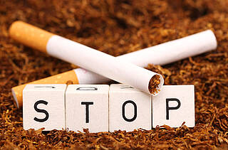 Nikotinersatztherapie, Nikotinpflaster, Rauchstopp