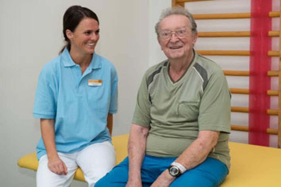 Geriatrie am Ev. Krankenhaus Königin Elisabeth Herzberge in Berlin-Lichtenberg: Haben spezielle Angebote für Patienten mit der Nebendiagnose Demenz