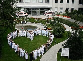 Jüdisches Krankenhaus Berlin, Klinik