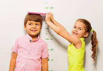 Kinder sind meist größer als ihre Eltern