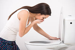 Noroviren verursachen Magen-Darm-Erkrankungen