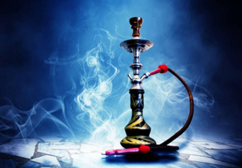 Shisha-Rauchen, Wasserpfeife