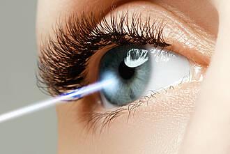 Folgen des Augenlaserns