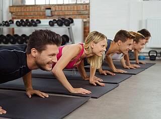 HIIT, Abnehmen, Fitnessstudio, High Intensity, Intervalltraining
