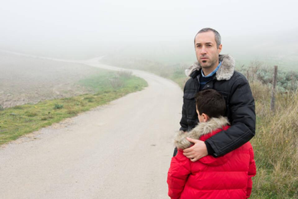 Flüchlinge in Serbien