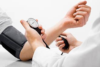 Blutdruck, Bluthochdruck, graue Substanz