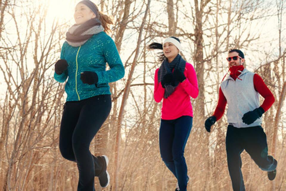 Mehr Bewegung im neuen Jahr ist ein guter Vorsatz!
