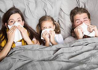 DAK meldet mehr Krankheitstage wegen Erkältungswelle