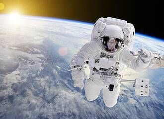 Weltraum, Gesundheit, Schwerelosigkeit, kosmische Strahlung