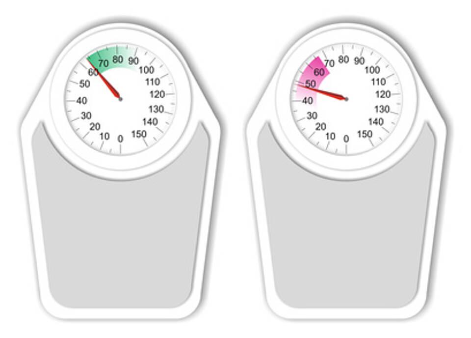 Untergewicht, Schlaganfall