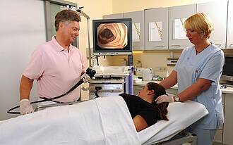 Früherkennungsuntersuchung Koloskopie auf Darmkrebs