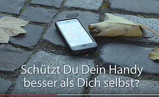"""Die neue AIDS-Kampagne auf youtube: """"Schützt Du Dein Handy besser als Dich selbst?"""","""