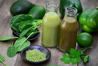 Grüner Gemüsesaft