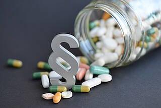 Gesundheitsgesetzgebung über Medikamente, Psychiatrie und Finanzen