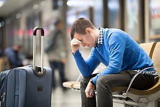 Die Flugtauglichkeit ist bei KHK, Herzschwäche oder nach Herzinfarkt eingeschränkt