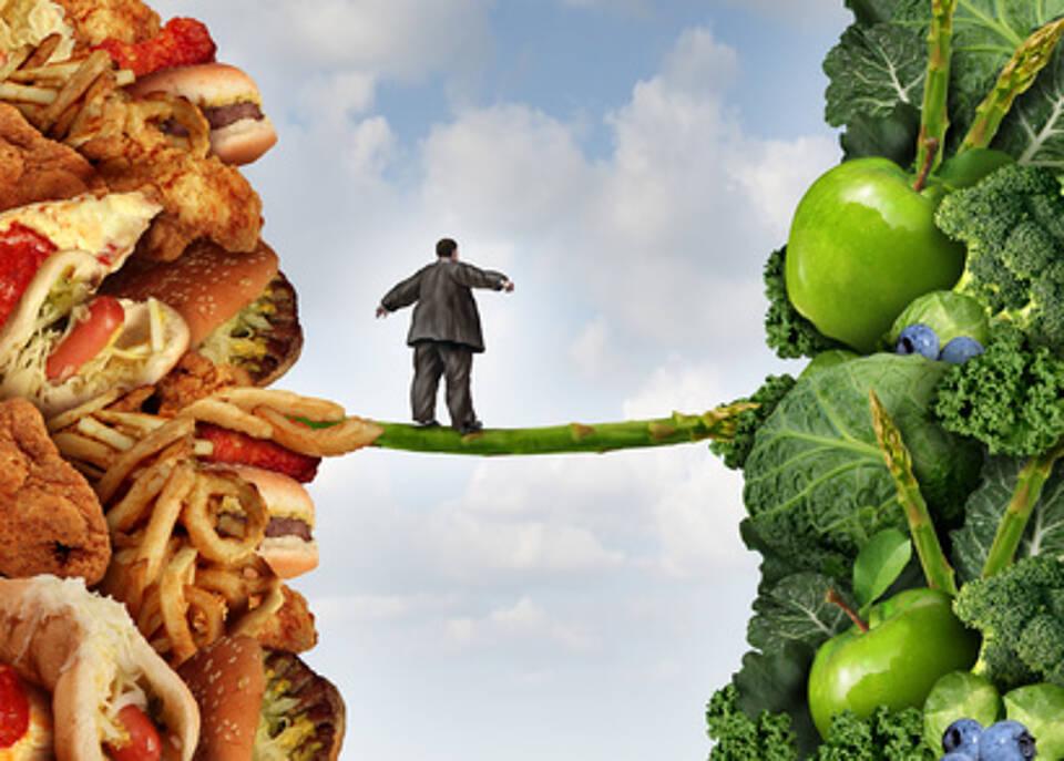 Im Zweifel für das Gemüse: Gesunde Ernährung und Bewegung sind die wichtigsten Stellschrauben gegen Diabetes