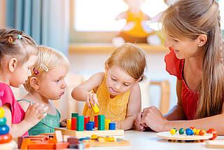 kita, kindergarten, erzieherin, kita-kinder