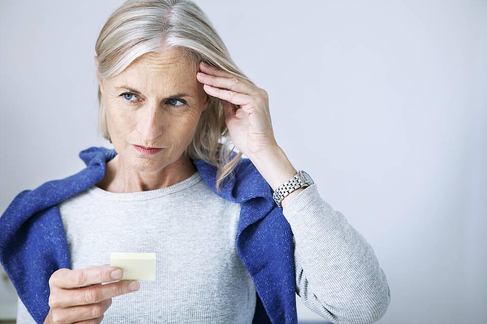Wortfindungsstörungen: Aktivitätsmuster verschieben sich mit dem Alter