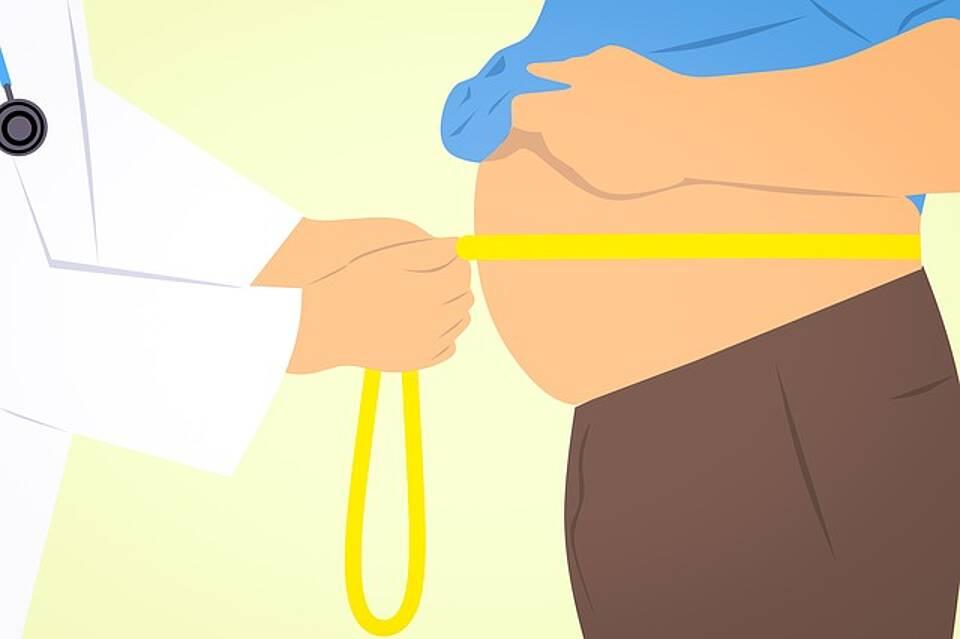 Krankheitsursachen Übergewicht