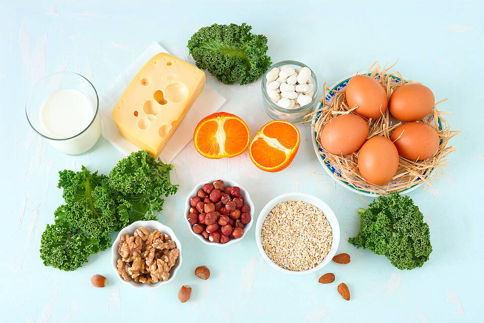 Osteoporose, Ernährung, Kalzium