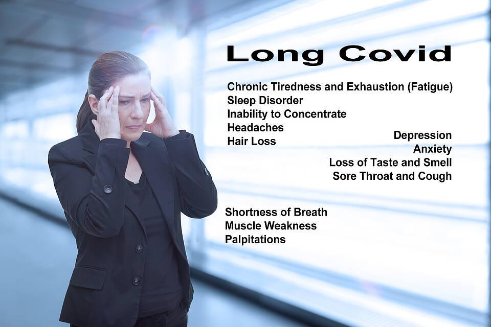 Frauen sind von Long-Covid deutlich häufiger betroffen als Männer