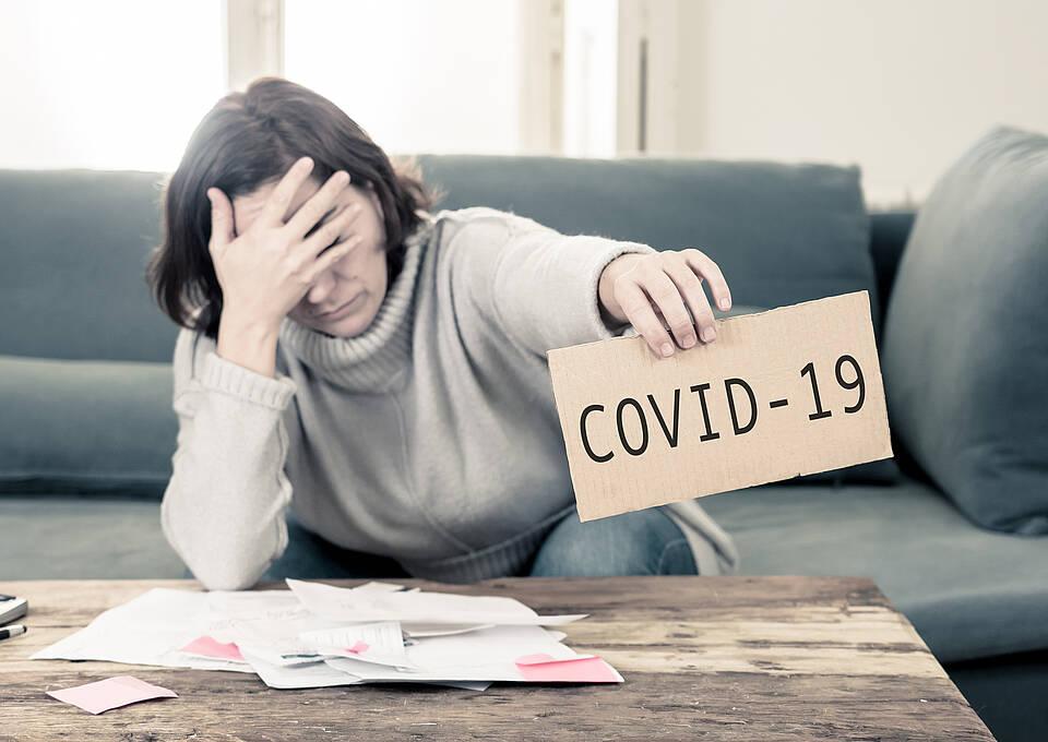 Depressionen gehören zu den Sekundärfolgen der Pandemie