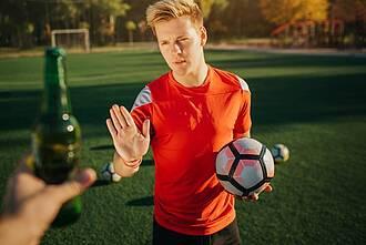 Alkohol, Sport