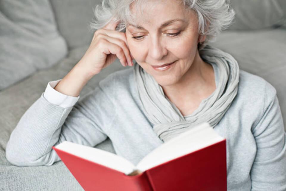 Lesen gut für die Gesundheit