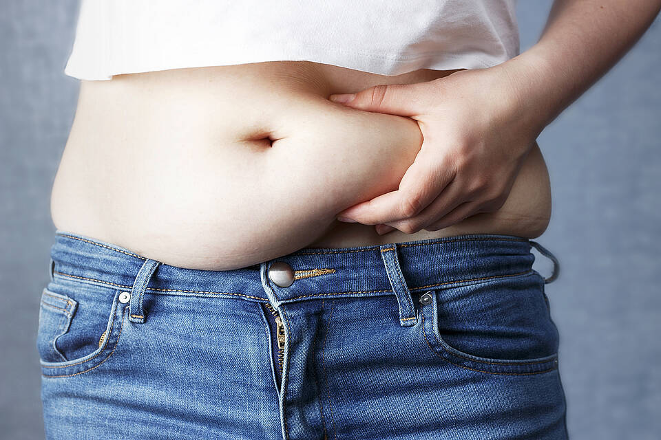 Das viszerale Fett am Bauch entwickelt Erhaltungsstrategien