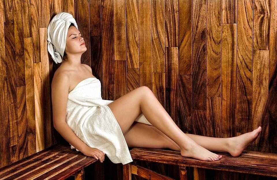 Sauna, niedriger Blutdruck