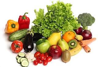 Glücklich durch gesundes Essen