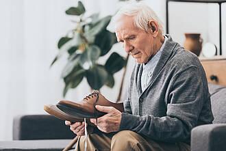 Demenz, Alzheimer, Demenz-Patient
