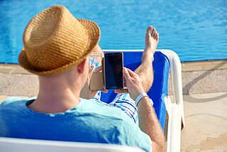Urlaub, Erholung, urlaubsreif, digitale Entschleunigung