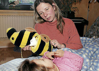 Greifbare Hilfe für krebskranke Kinder
