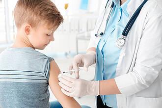 Grippeimpfung, Impfen, Kinderarzt, Schutzimpfung