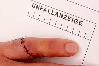 Arbeitsbedingte Unfälle und Krankheiten auf dem Rückzug