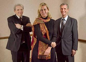 Annette Grüters-Kieslich und Manfred Gross