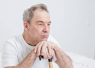 Parkinson-Patientin