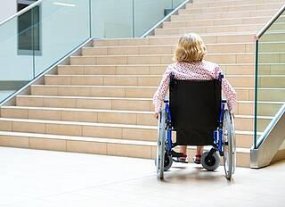 Barrierefreiheit, Menschen mit Behinderungen, Mobilität