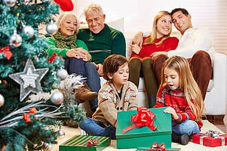 Heiligabend, Weihnachten, Familie