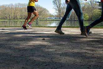 joggen, laufen, running, park