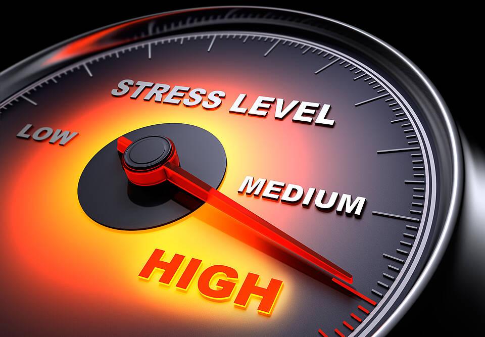 Ein hoher Stresslevel schwächt das Immunsystem - vermutlich über Neurotransmitter wie Adrenalin