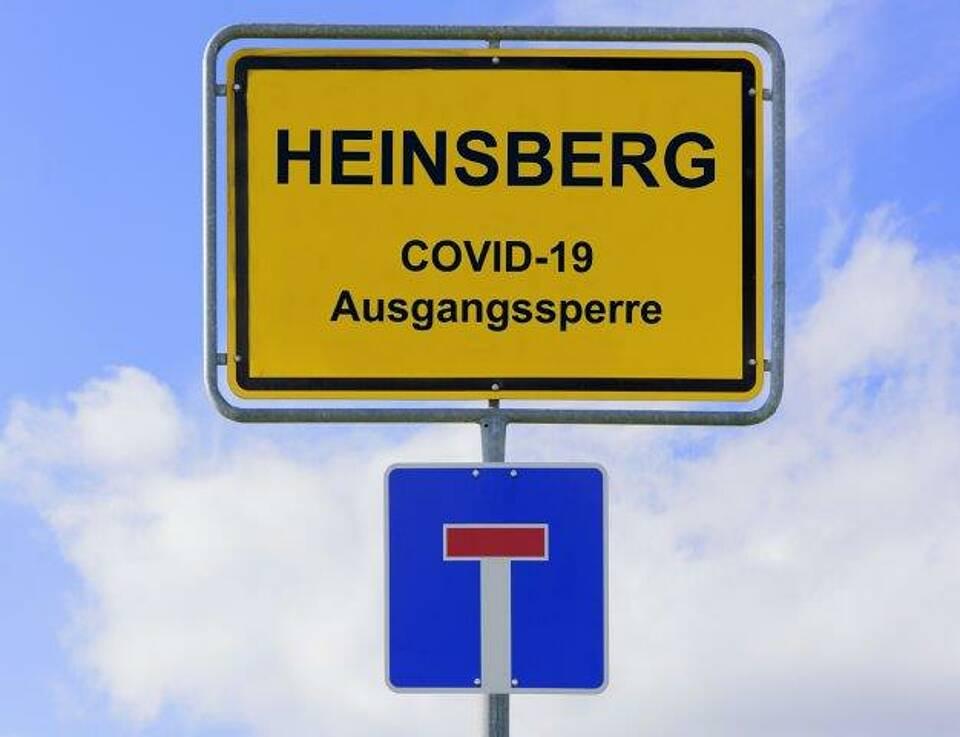 Heinsberg-Studie zeigt: Dort wo Viele Menschen auf engem Raum sind, breitet sich das Coroanvirus rasend schnell aus. In Haushalten ist das Ansteckungsrisiko deutlich geringer