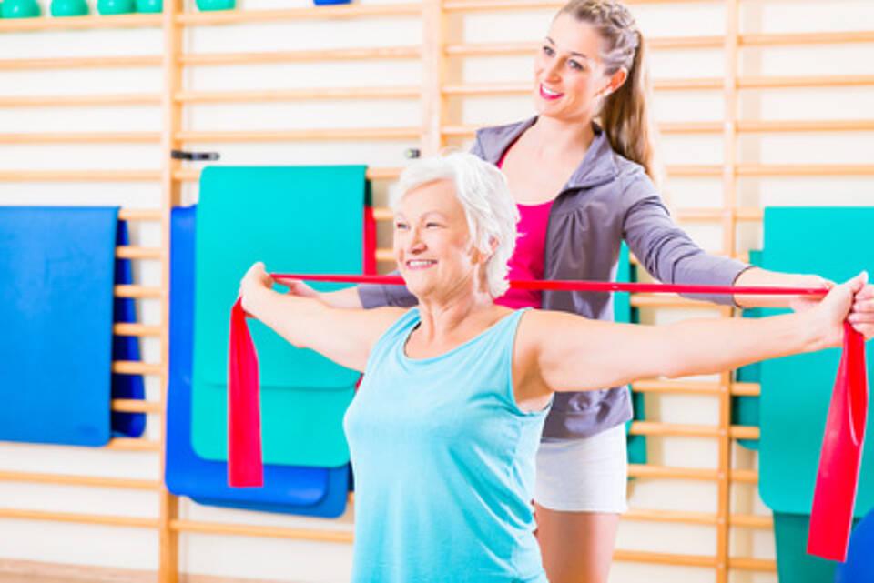 Training bei Brustkrebs