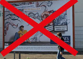 Tabakwerbung auf Deutschlands Straßen: DKFZ fordert umfassendes Werbeverbot