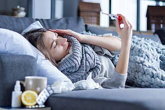 Coronaregeln, Grippe, Influenza