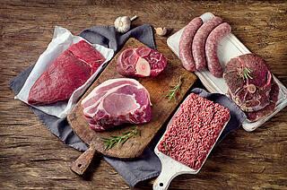 Fleisch, Hackfleisch, Wurst