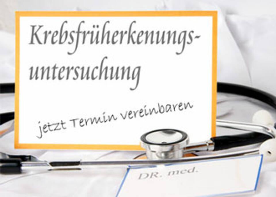 Krebsfrüherkennung: Deutsche fühlen sich schlecht beraten