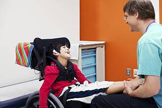 Behinderung, Krankenhaus, Kind, Arzt